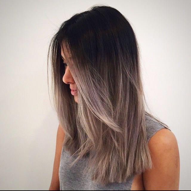 Ash Grey Hair Color