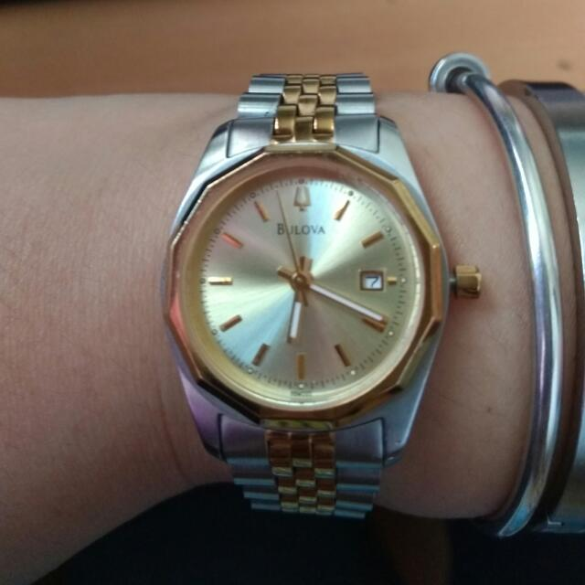 Authentic Bulova Ladies Watch