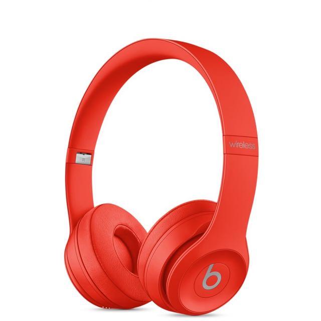 全新Beats Solo3 wireless頭戴式耳機