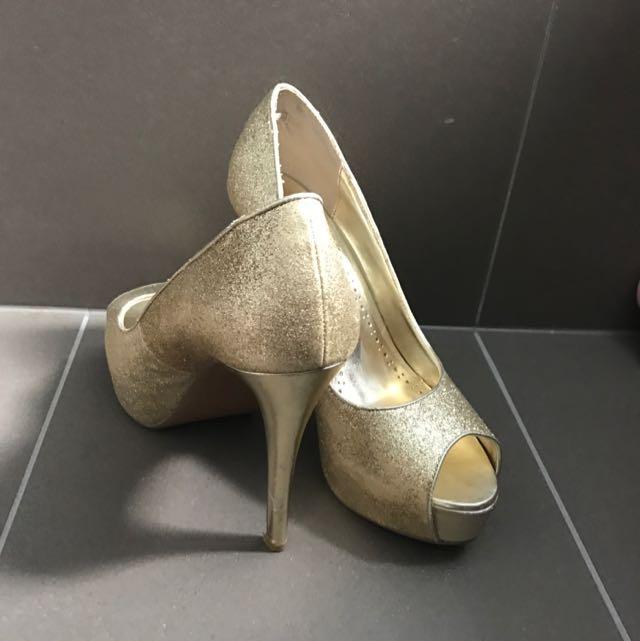 Betts Gold Heels