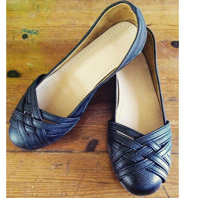 Black Leather Black Shoe
