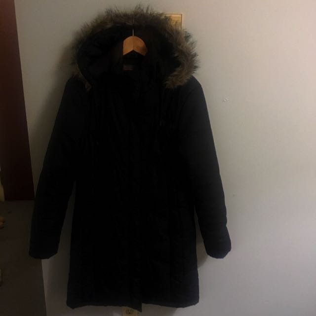 REDUCED Black Marlene Coat