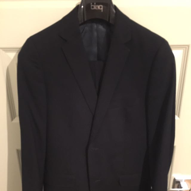 Men's Navy Slim Fit Suit