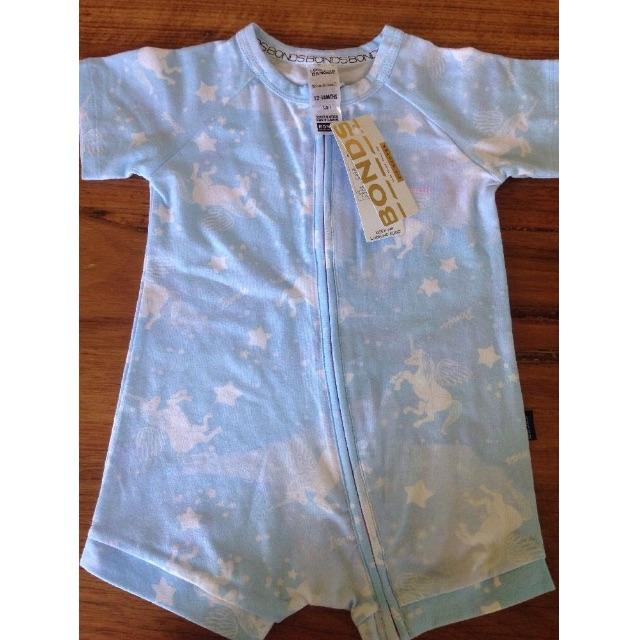 Bonds Baby Girl Wondersuit Zippy Unicorn Size 1 Brand New With Tags