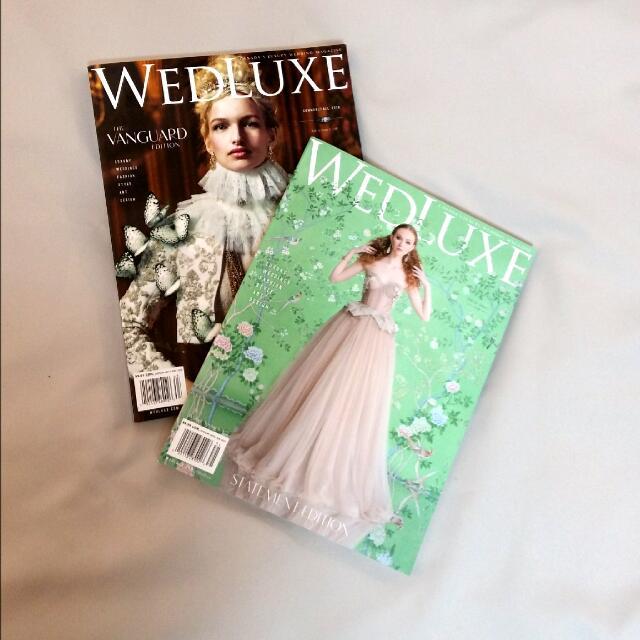 WEDLUXE Magazines