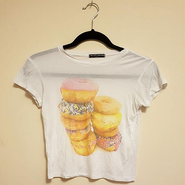 Brandy Melville Donut Crop Top