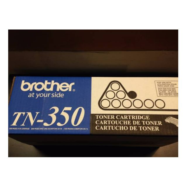 Brother TN350 Printer Original Toner Cartridges (Have 2 - price is for both)