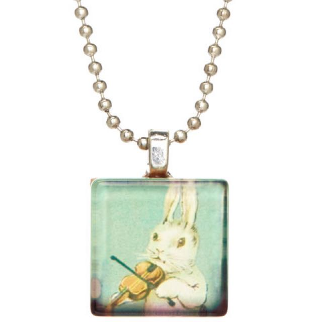 Bunny Pendant Necklace