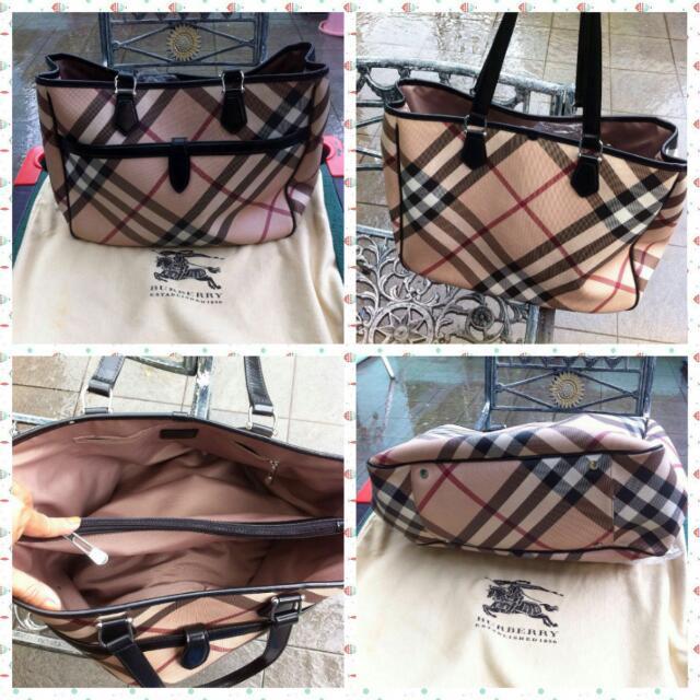 Burberry hand bag (preloed)