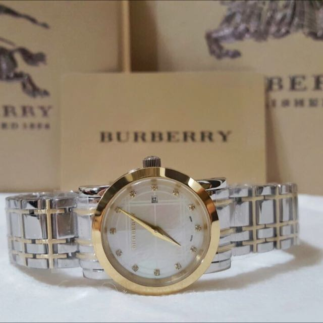 BURBERRY TWO TONE 28mm