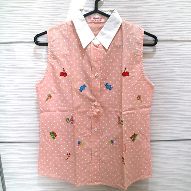 Candy Pink Top