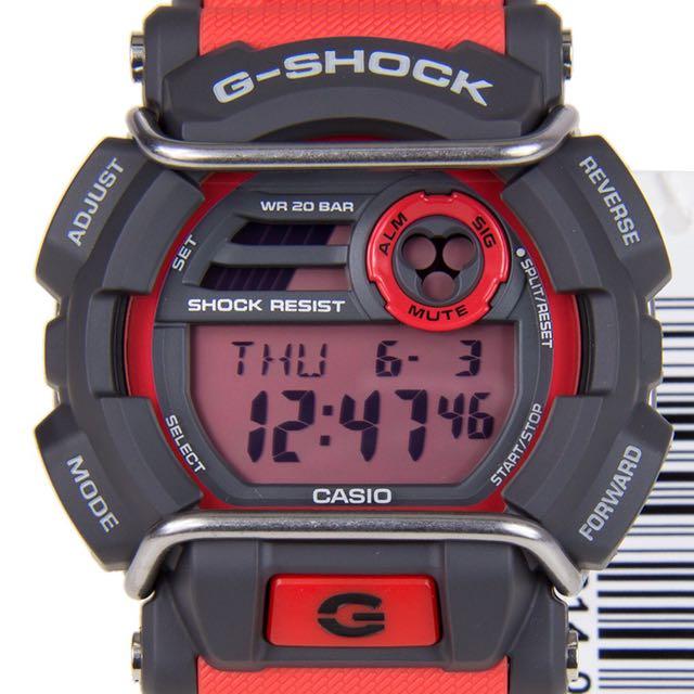 sale retailer 7f9a6 c49ad Casio G-shock 3434 GD-400 Red, Men's Fashion, Watches on ...