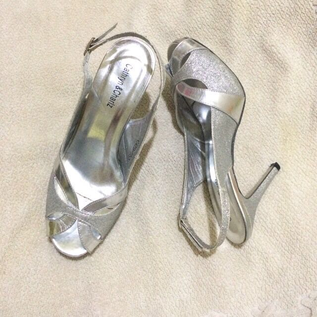 Cathryn And Charlz Silver Shoes