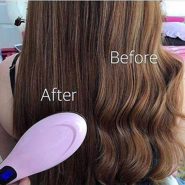 Catokan sisir pelurus rambut ORIGINAL