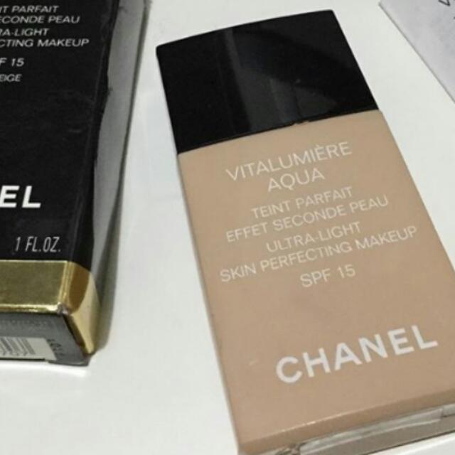 Chanel Foundation Vitalumiere Aqua