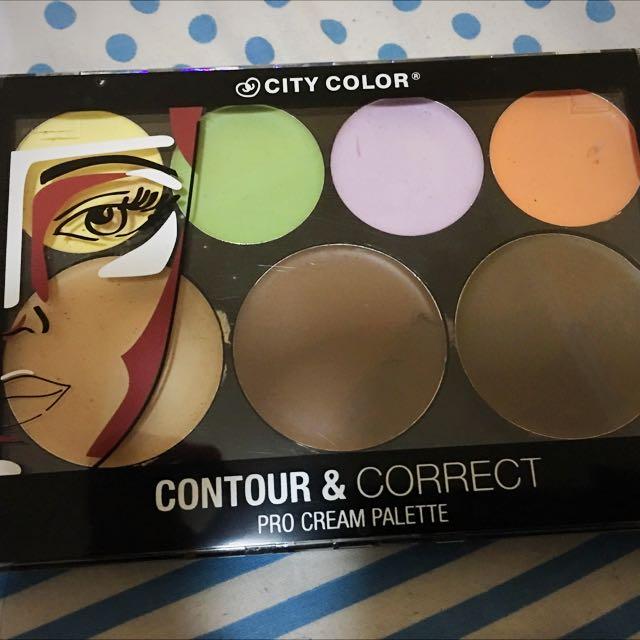 City Color - Contour & Correct Pro Creame Palette