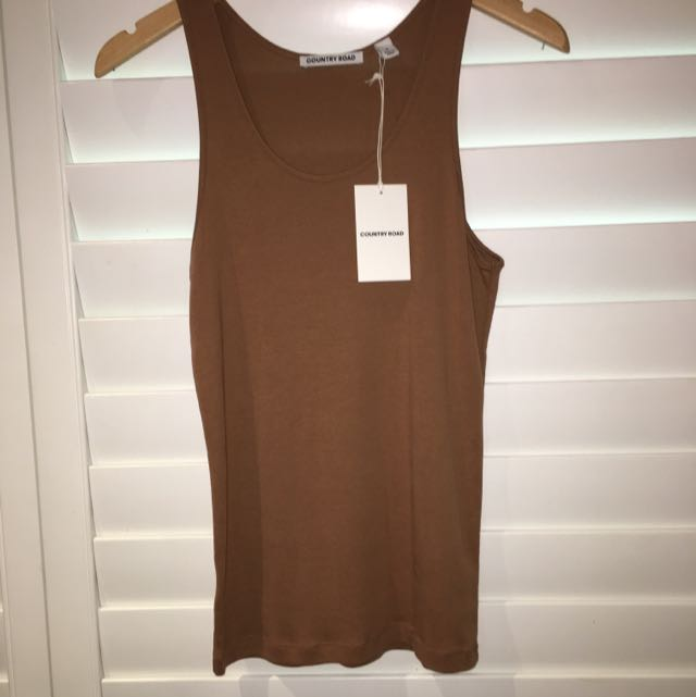 COUNTRY ROAD Singlet Top