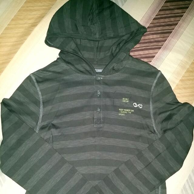 Dark Gray Stripes Longsleeves