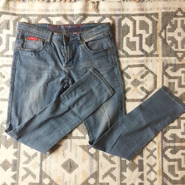 Denim Ling Pants