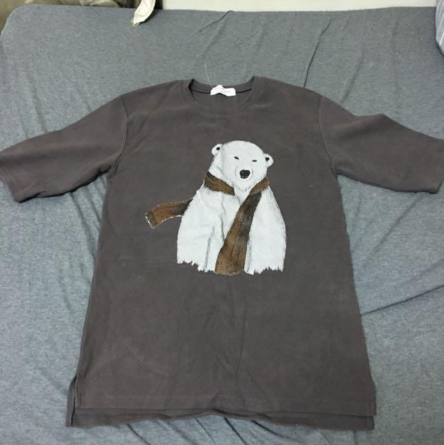 降價Dogoose可愛北極熊上衣