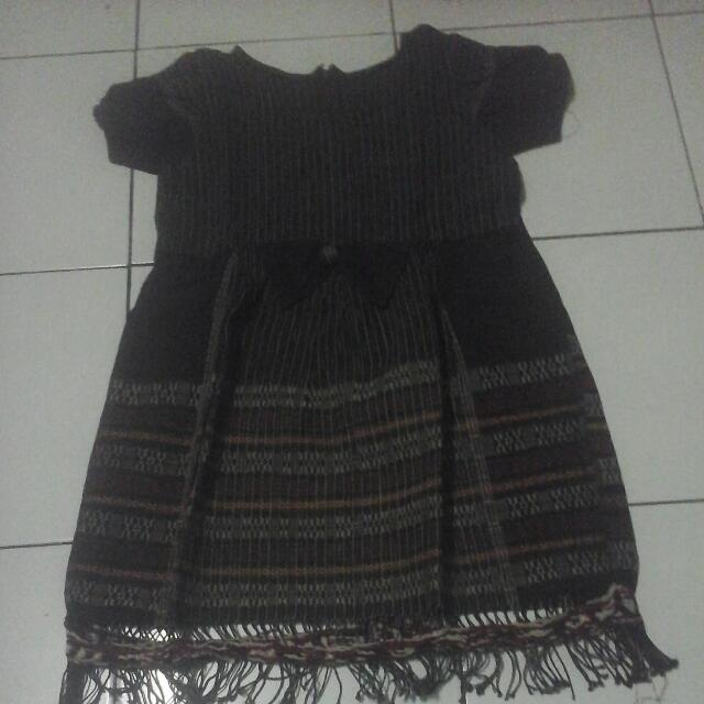 Dress Ulos Anak