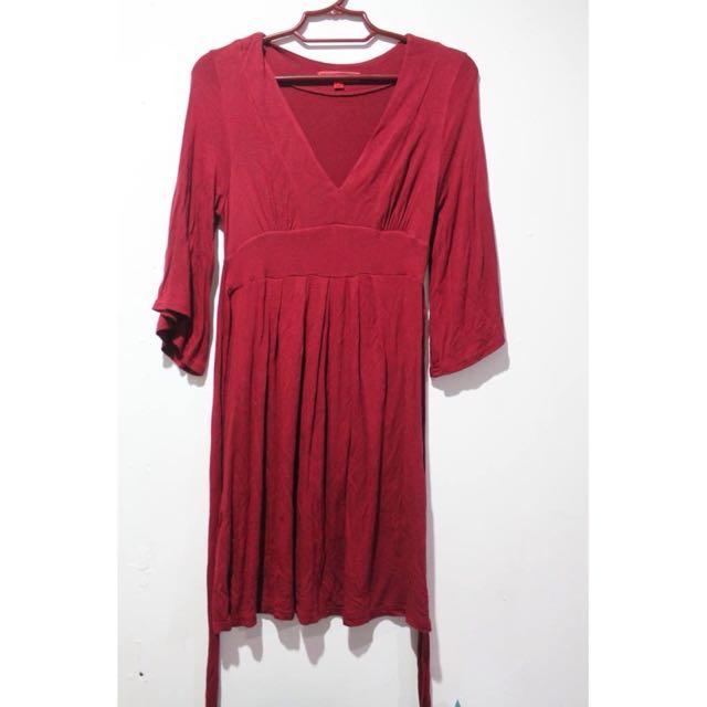 F21 3/4 Sleeve Dress