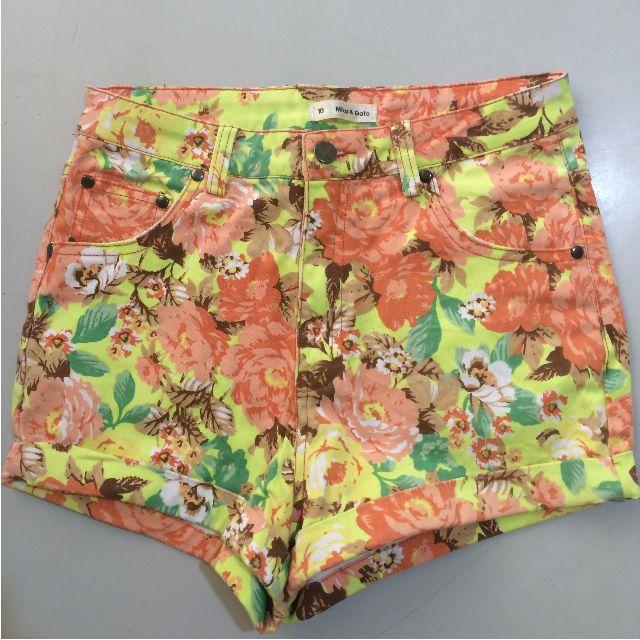 Flowerly shorts