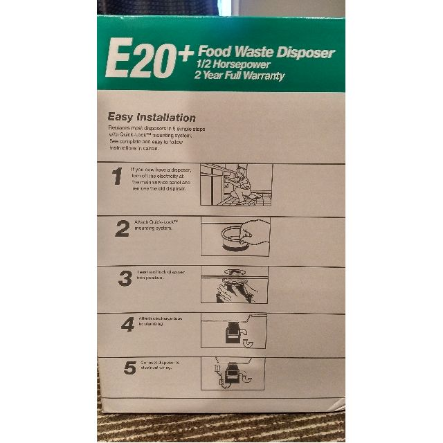 Food Waste Disposer E20