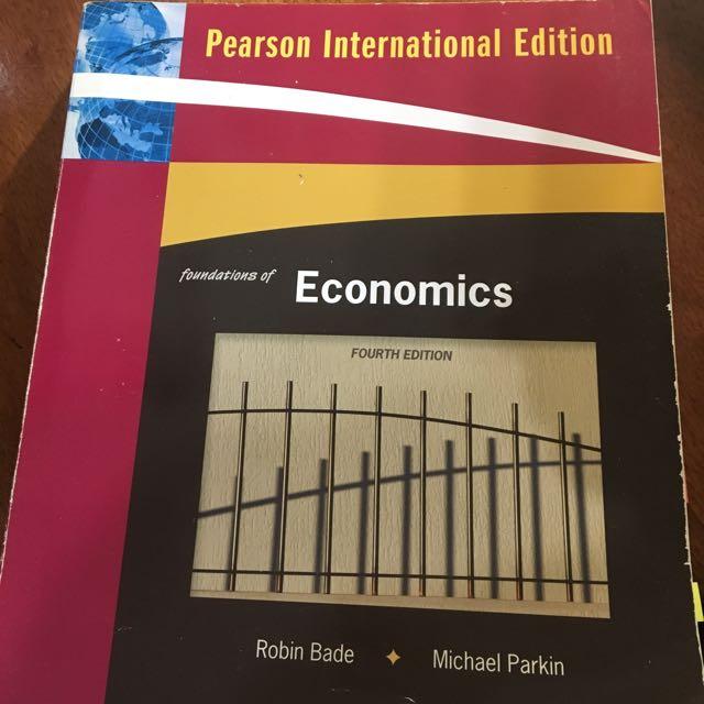 Foundations Of Economic