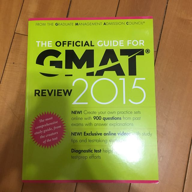 GMAT review2015
