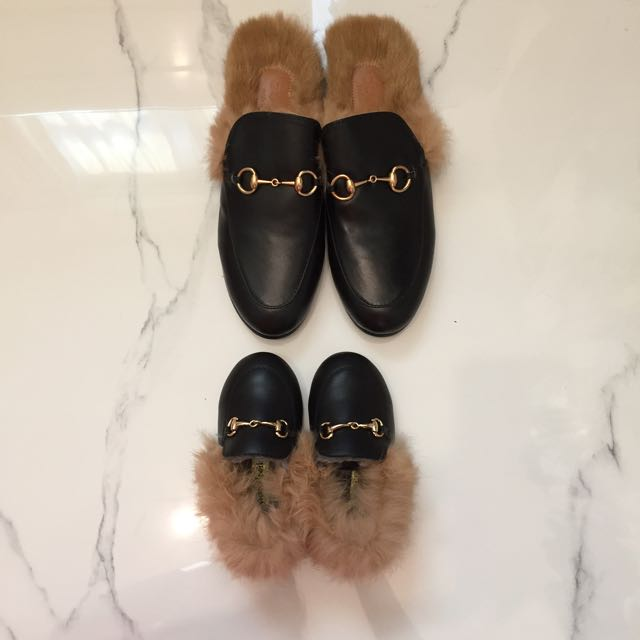 583a650f1 Gucci Princetown Inspired Slippers   Mules For Children  Babies ...