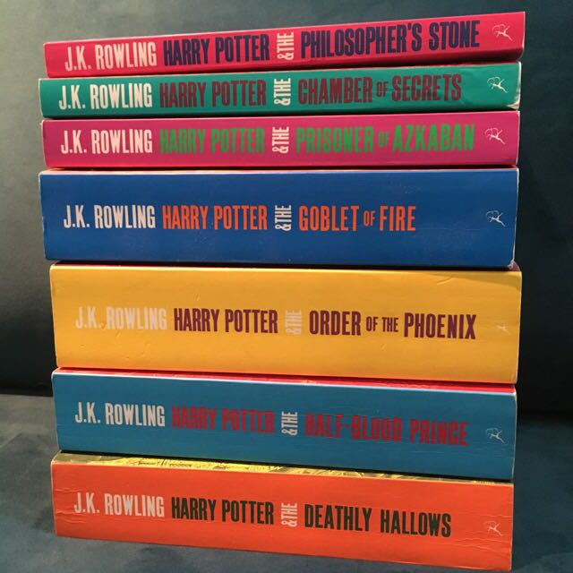 Harry Potter Books 1-7 Bloomsbury Paperback