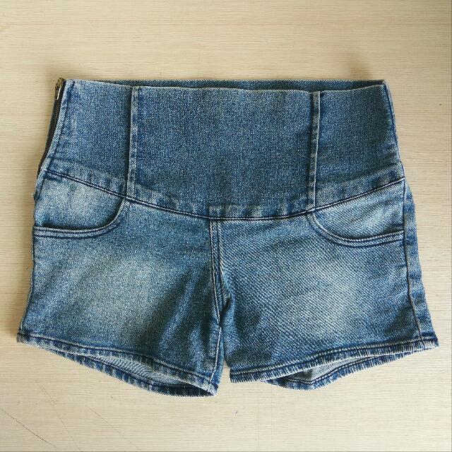 [Reprice] Highwaist Jeans Pendek