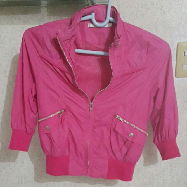 Hot Pink Tomato Jacket -- On Sale