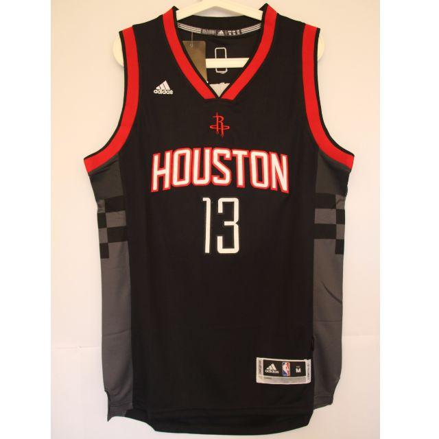 newest 6b95f 4b139 NBA Swingman Jersey James Harden Houston Rockets #13 Black ...