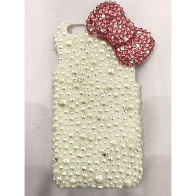 Iphone 6 Hello Kitty Bling Case