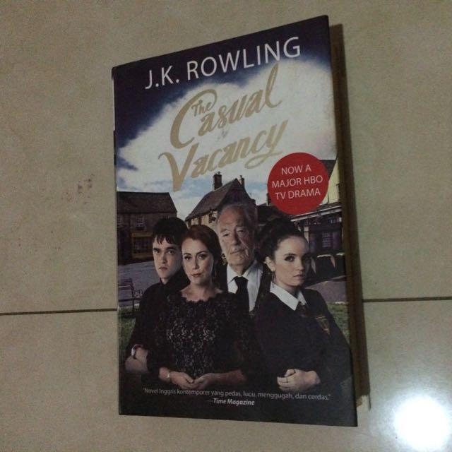 JK ROWLING - The Casual Vacancy