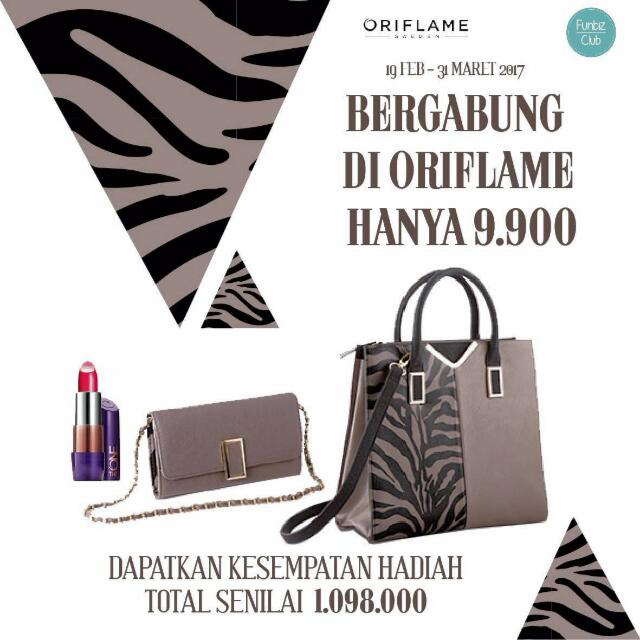 Join member Oriflame only Rp. 9.900