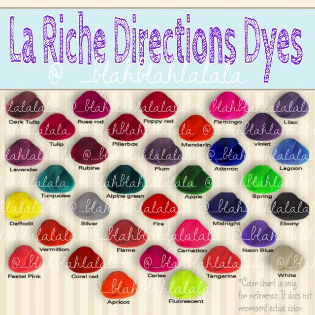 La Riche Directions Semi Permanent Hair Dyes