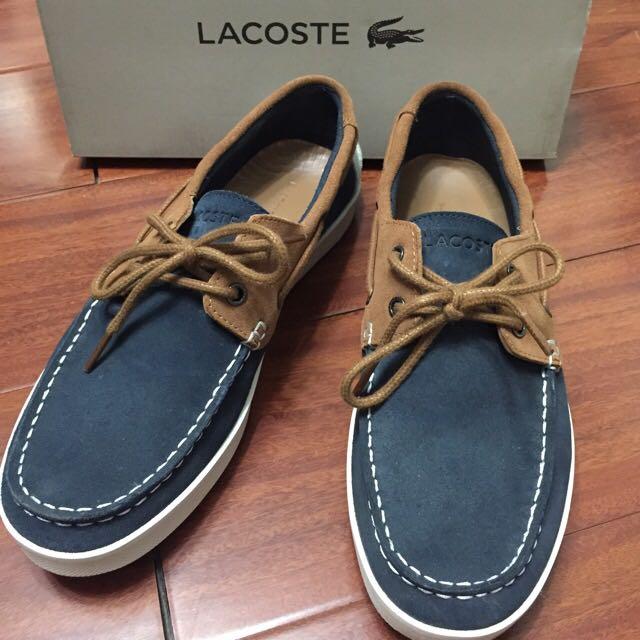 LACOSTE 帆船鞋 99.99新