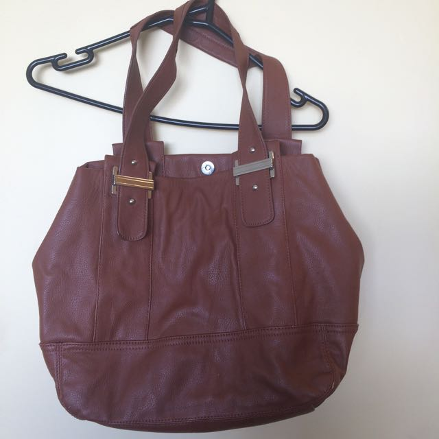 Leather Jag Handbag