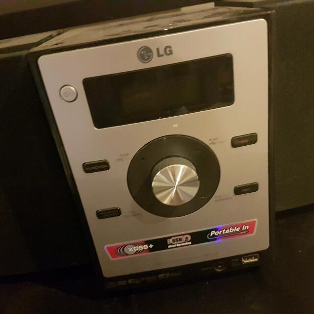 LG mini hi-fi