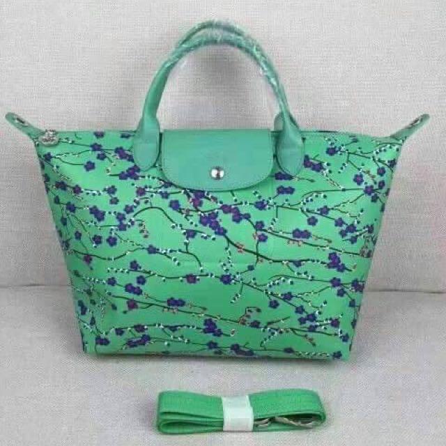 Longchamp Sakura Authentic Overruns