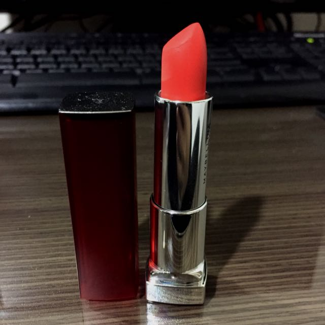 maybelline柔霧花蜜唇膏