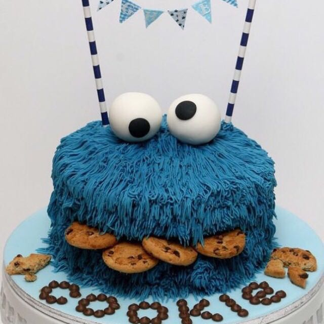 Monster Cookie Cake