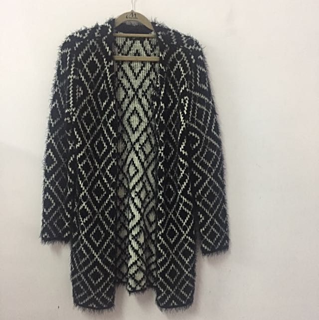NET Ladies 針織長版外套(size:M)