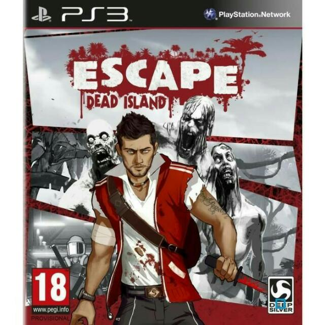 (NEW) PS 3, ESCAPE Dead Island , Genre ACTION