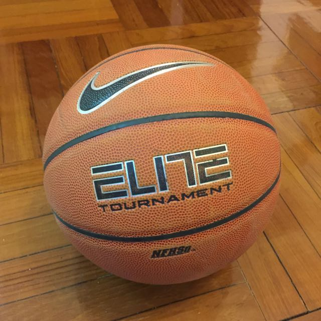 NIKE 籃球 Elite Tournament 8-Panel Basketball Size 7 (MENS)