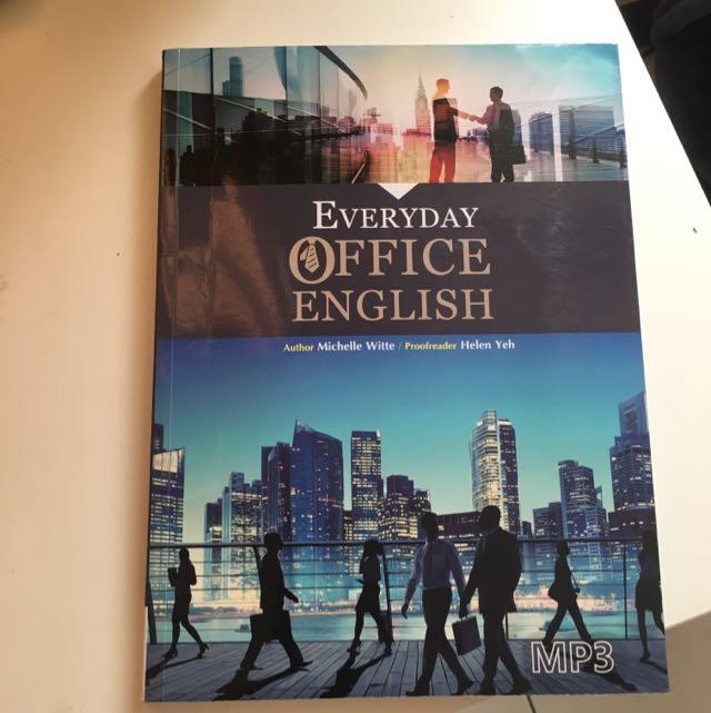 Office English#我有課本要讀