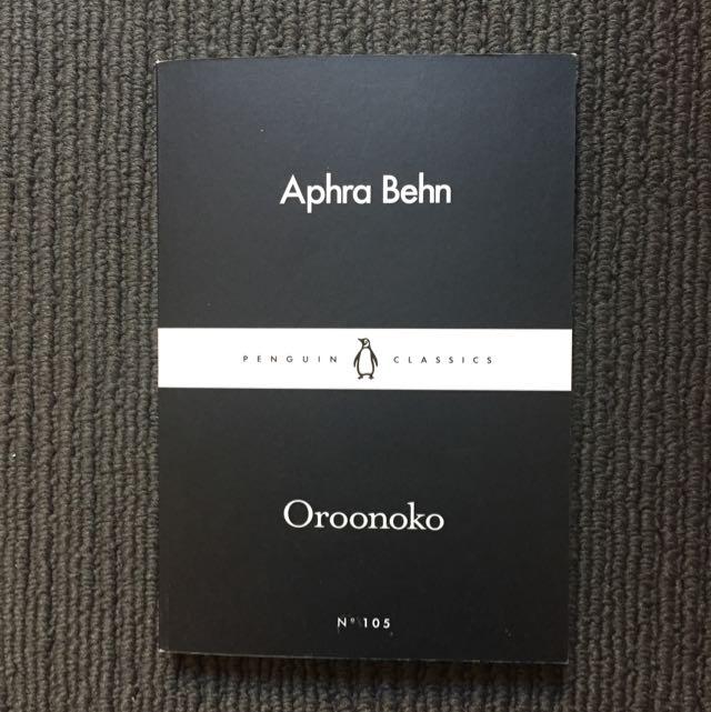 Oroonoko - Aphra Behn